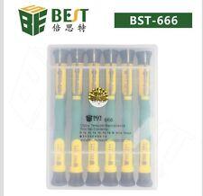 12 Pcs Precise Open Repair Screwdriver Tool Kit Set Samsung Cell Iphone PC T4 T5