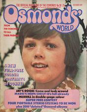 Osmonds' World Magazine Issue No.38  December 1976    The Osmonds   Donny Osmond