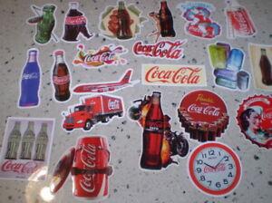 21  Stickers   Coca Cola