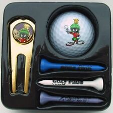 MARVIN THE MARTIAN WB STORE LOONEY TUNES Golf Ball Tee Set With Divot Tool 8018