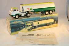 Dinky Toys 887 UNIC Tractor with Air BP Tankwagen excellent in box all original