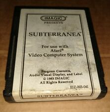 SUBTERRANEA ! FOR ATARI 2600 + 7800 ! CARTRIDGE ONLY !TESTED !