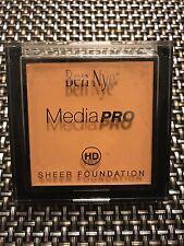 NEW! Ben Nye HD MediaPRO HD Sheer Foundation Light/Medium 1 WOB ***SHIPS FREE***
