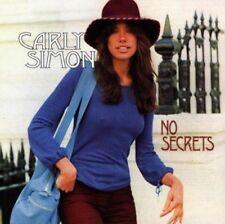 CARLY SIMON NO SECRETS CD incl: You're So Vain