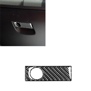 1pcs For Mazda RX-8 2004-2008 Carbon Fiber Glove box  Interior Sticker Trim