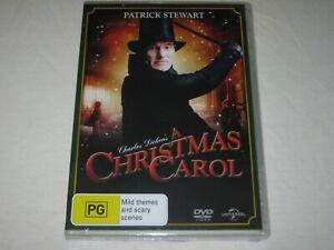 A Christmas Carol - Patrick Stewart - Brand New & Sealed - Region 4 - DVD