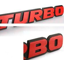 Turbo 3D Logo Emblem Badge Decal Sticker fits is250 is350 rcf q40 q50 q60 qx50