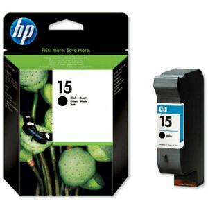 Genuine Original HP 15 C6615DE Black Printer Ink Cartridge VAT.Inc