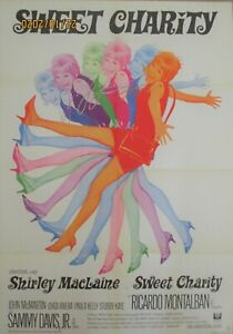 BOB FOSSE + SWEET CHARITY + SHIRLEY MacLAINE + GERMAN + 1-SH +
