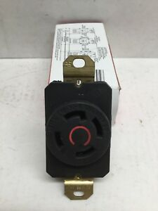 Pass & Seymour Legrand L1630-R Turlok Receptacle 30A 3 Phase 380V 3P 4W