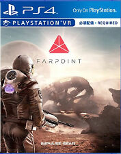 Farpoint HK Chinese/English subtitle PS4 VR Required PS4 NEW