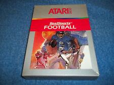 NEW ( NOS ) ATARI 2600 REALSPORTS FOOTBALL GAME IN FACTORY SEALED BOX 7800