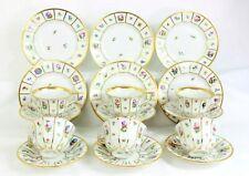 Royal Copenhagen Henriette Tea Service Set for 6 (18 pieces) cups saucers plates