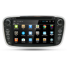 Android 9.0 GPS Sat-Nav Car DVD Player DAB+ Radio Ford Mondeo Focus S-Max Black