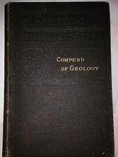 Antique Vintage Joseph Le Conte Compend of Geology Appleton School Textbook 1884
