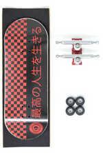Skull Fingerboards Japan Red Edition Pro Complete Wooden Fingerboard (34mm)