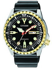 Citizen Automatic Diving Rubber Strap Men's Watch NH8384-14E
