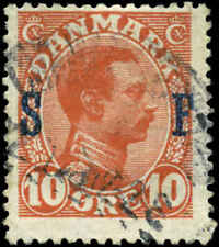 Denmark Scott #M2 Used  Military Stamp