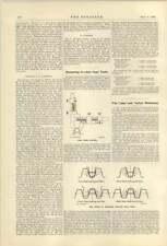 1921 Bostock Bramley Netherton Huddersfield Measuring Involute Gear Teeth
