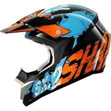 Shark SX2 Freak Motocross Helmet Black/ Orange/ Blue Large