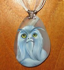 Hand made STONE pendant Fantastic Beasts and Where to Find Them Demiguise signed