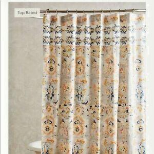 NWT Anthropologie Taja Shower Curtain