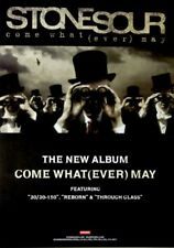 STONE SOUR - 2004 - Promoplakat - Come what (ever) may - Poster