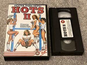HOTS II (1974) SVC BIG BOX ORIGINAL VHS VIDEO. JACK HILL.