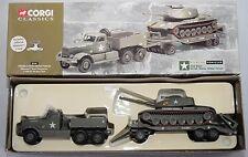 CORGI CLASSICS 55101 U.S Diamond T TANK TRANSPORTER + CARRO ARMATO M60 SCALA 1:60
