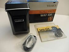 NEW! Yashica MAT-124G TLR 120 Film Camera Yashinon 80 MM f3.5 Unused! DELIVERED