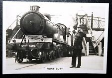 LNER   Grimsby Docks Station Level Crossing      Vintage 1930's Photo Card  VGC