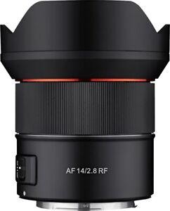 Samyang AF 14mm 2.8 RF für Canon RF Vitrinenmodell  #10291