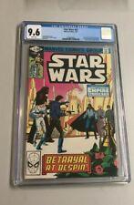STAR WARS #43 NM+ CGC 9.6 1st Ap LANDO BOBA-FETT MARVEL COMIC BOOK 1981 HAN SOLO
