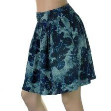 Short/Mini Pleated, Kilt Regular Floral Skirts for Women