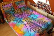 Indian Colorful Elephant Duvet Cover Quilt Cover Bedding Set with Pillow Cases