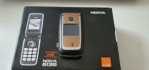 Nokia 6136 - Gold (Unlocked) Mobile Phone