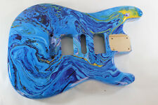 Multicolor Basswood HSH Hardtail Strat Stratocaster body Fits Fender neck P426
