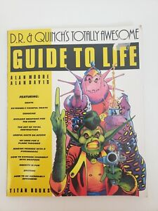 D.R. & Quinch's Totally Awesome Guide to Life, ALAN MOORE, ALAN DAVIS 1986