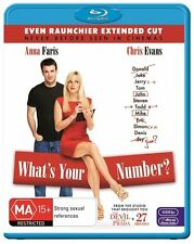 What's Your Number? [ BluRay ] LIKE NEW, Region B, Fast Next Day Post...7577