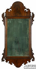 SWC-A Mahogany Queen Anne Mirror, American/English, c.1760