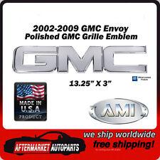 2002-2009 GMC Envoy Polished Aluminum GMC Front Grille Emblem AMI 96500P