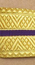 Braid RCMP Gold/Purple/Gold 44mm R736