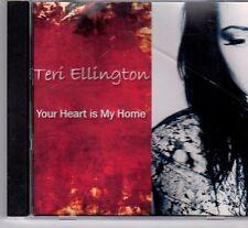 (DX768) Teri Ellington, Your Heart is My Home - DJ CD