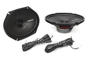 "Rockford Fosgate R168X2 110 Watt 6"" x 8"" 2-Way Coaxial Car Audio Speakers 6""x8"""