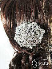Rebecca Wedding Bridal Vintage Hair Piece Comb Accessories Tiara Headpiece