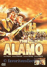 The Alamo (1960) - John Wayne, Richard Widmark, Laurence Harvey - DVD NEW