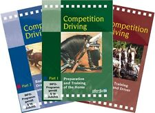 Competition Driving Part 1,2 & 3 by Frank Lutz; 3 DVD Set