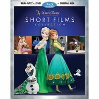 Walt Disney Studios Short Films Collection Frozen Tangled (Blu-ray/DVD+Digital)