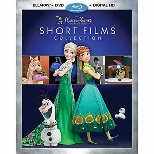 Walt Disney Studios Short Films Collection Frozen Tangled (Blu-ray/DVD+Digital)