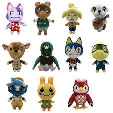 11*pcs Kids Animal Crossing Tom Nook KK Rover Plush Toy Soft Stuffed Doll Gifts